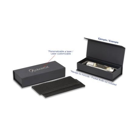 Caja Negra Imantada : 11.5x4x3 cm